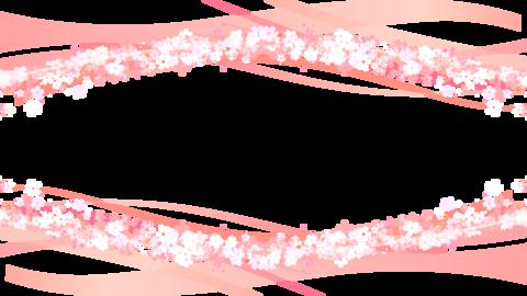 桜 枠 背景 素材 桜素材