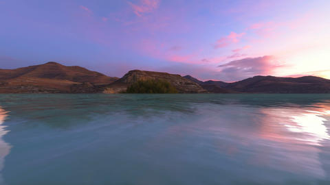 Dusk Landscape Animation
