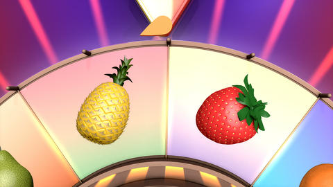 Children video animation, Wheel of fruit Watermelon Live Action
