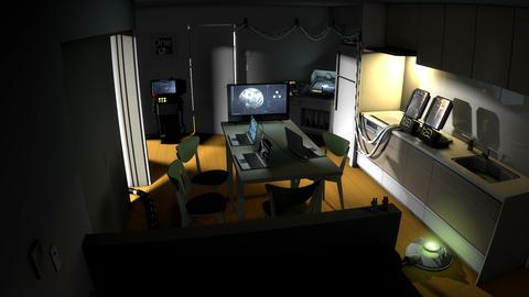 Operating base, Command center V4 Animation