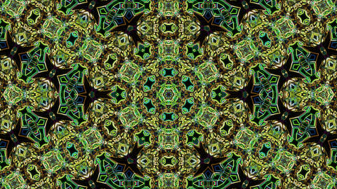 Looping neon kaleidoscope Animation