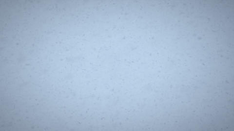Shot of a blizzard Footage