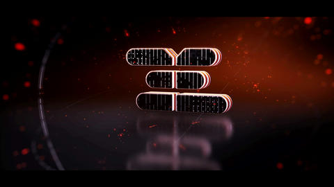 Reflection 3D Logo After Effects Template