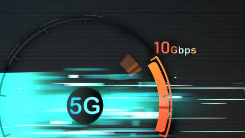 5G broadband connection speed Live Action