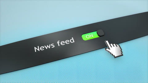 Application setting News feed Live Action
