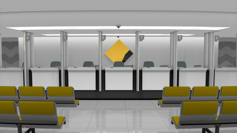 Editorial CommonWealth Bank retail counter Animation