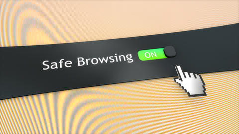 Application setting Safe browsing Live Action