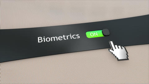 Application setting Biometrics Live Action