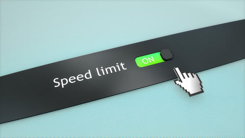 Application setting Speed limit Live Action