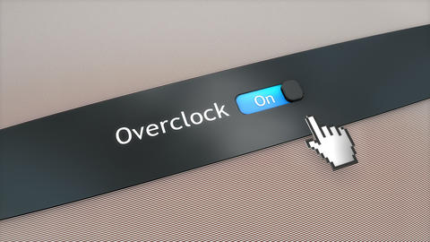 Application setting Overclock Live Action
