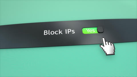 Block IP ON, Stock Animation