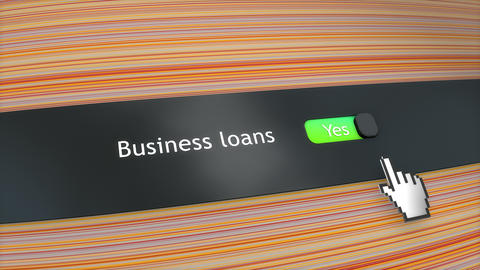 Application setting Business loans Animation