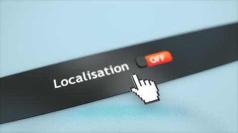 Application setting Localisation, Stock Animation