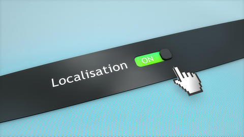 Application setting Localisation Live Action