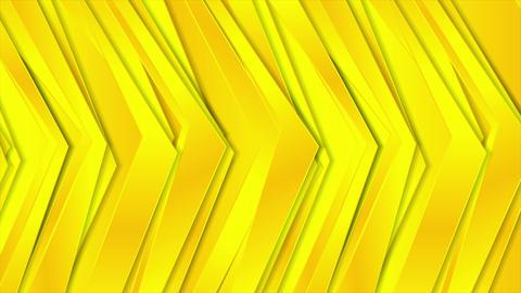Abstract corporate bright yellow video animation Animación