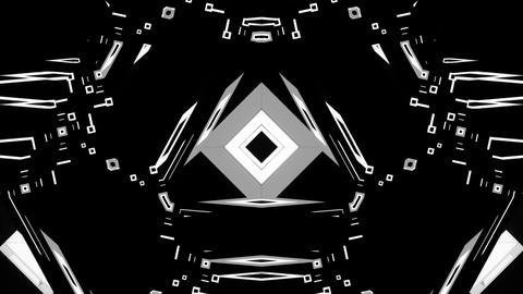 Black and White Strobe VJ Show Animation