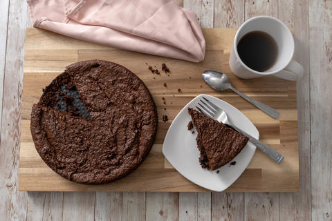 Gluten free chocolate cake Photo