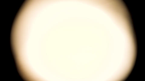 Light leak background warm light circle Stock Video Footage
