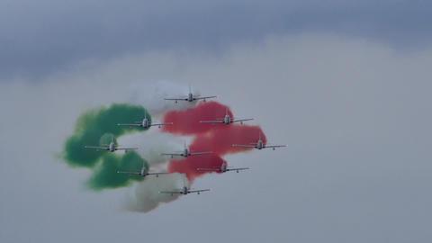Frecce Tricolori - Scintilla Tricolore Live Action