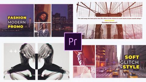 Frames Intro Premiere Proテンプレート