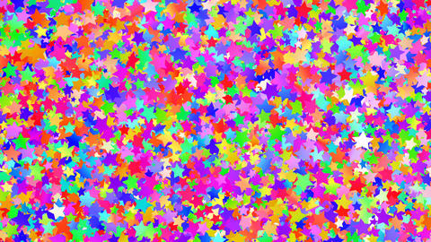 Glitter Star Frame 3 As Colorful 4k Animation