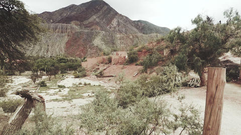Land view of Jujuy Stock Video Footage