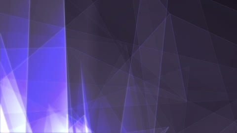 See-through Business Trigons Moving Around Animation