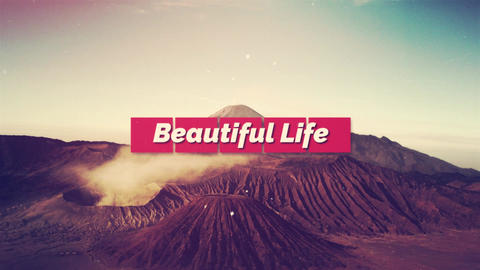 Beautiful Life After Effects Template