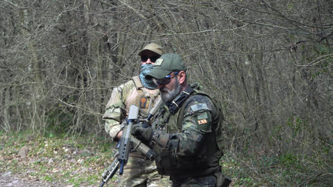 [alt video] special forces soldiers seal team in action