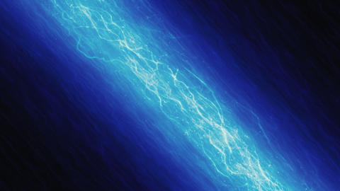Blue Electricity Background Animation