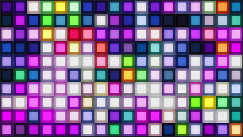 Colorful Squares Looping Background Animation