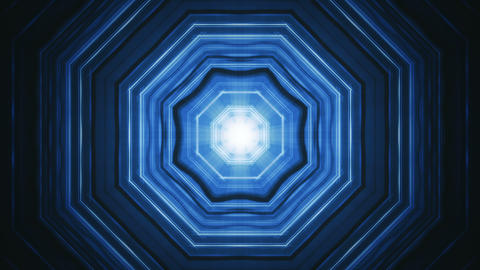 Hexagon Tunnel Background Animation