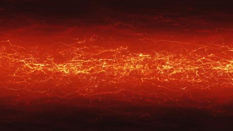 Orange Electric Background Animation