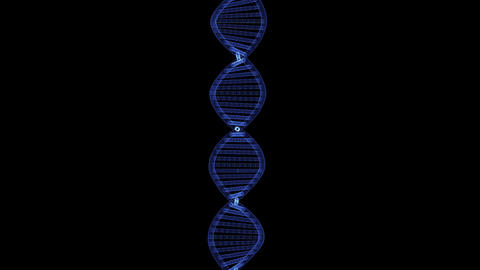 Hologram of the DNA double helix ビデオ