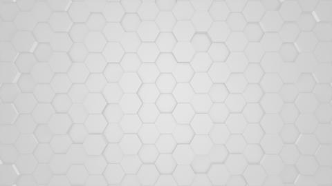 Corporate Silver Hexagons Animation
