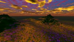 CG sky animation movie clip Animation
