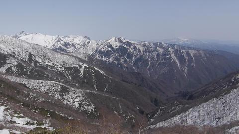 上越国境の山々 ビデオ