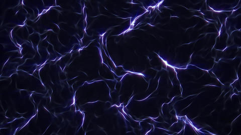 Dark Blue Abstract Waves CG動画素材