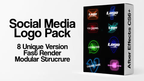 After Effects Bestsellers V5 Logos Slideshows Collection SALE 2