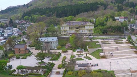 Hakodate Motomachi aerial shoot Footage