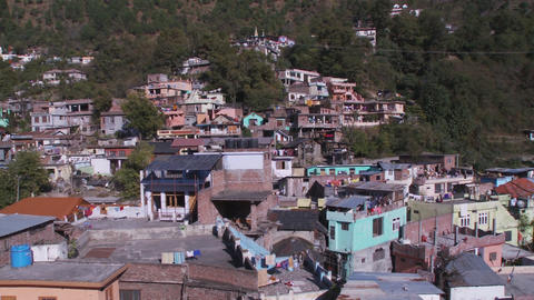 Roof tops of Chamba Live Action
