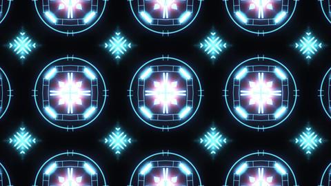 Ultra Music Festival Kaleidoscope box background Hypnotic box stage visual loop Footage