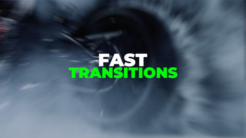 Fast Transitions Premiere Pro Template