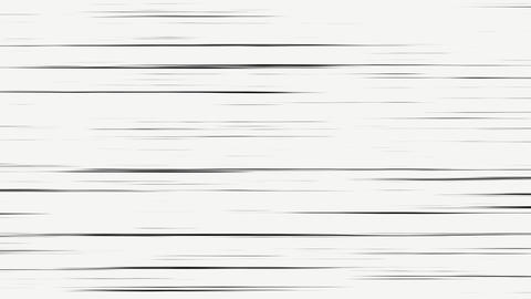 Manga Black and White Speed Lines Animation
