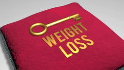 weight loss concept Stock Video Footage