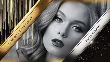 Golden Awards Event Pack After Effects Template