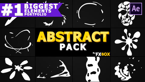 Abstract Elements After Effects Template