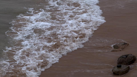 Gentle waves and sea fom Footage