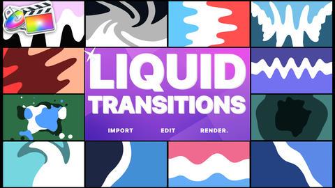 Liquid Transitions Apple Motion Template