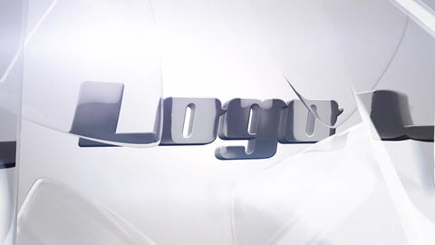 Glass Logo After Effects Template